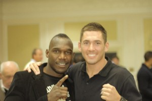 Ovill McKenzie and Tony Conquest